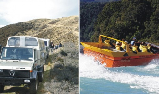 4WD & Jet Combo - Christchurch
