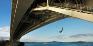 Bungy - 40m Auckland Bridge - NZ's Only Ocean Touch image 3