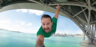 Bungy - 40m Auckland Bridge - NZ's Only Ocean Touch image 2