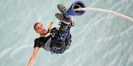 Bungy - 40m Auckland Bridge - NZ's Only Ocean Touch image 5