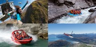 Awesome Foursome - Bungy Jet Heli Raft image 1