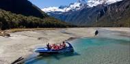 Jet boat - Dart River Wilderness Jet image 3