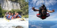 Skydiving & Raft Combo - Duck & Dive image 1