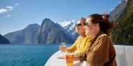 Milford Sound Coach & Cruise From Queenstown - Go Orange image 1