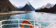 Milford Sound Boat Cruise - JUCY Cruise image 1