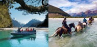 Dart River Wilderness Jet & Horse Riding Combo image 1