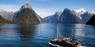 Milford Sound Overnight Cruise - Wanderer image 1