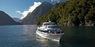 Milford Sound Coach & Cruise - Mitre Peak Cruises image 4