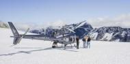 Helicopter Flight - Alpine Snow Landing image 1