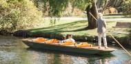 Punting on the Avon River and Botanic Gardens image 4