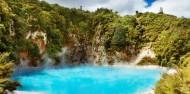 Geyser Link Rotorua - Wai-O-Tapu & Waimangu - Headfirst Travel image 1