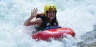White Water Sledging - Kaitiaki Adventures image 3