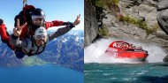 Skydiving & Jet Boat Combo image 1