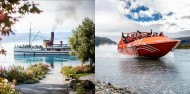 TSS Earnslaw Cruise & Jet Boat Combo image 1