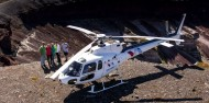 Eruption Trail Tour and Guided Walk by Helicopter – Volcanic Air image 3