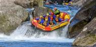 Rafting - Grade 5 Wairoa River - Kaituna Cascades image 1