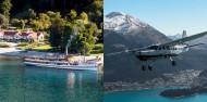 Walter Peak Flight & TSS Earnslaw Cruise - Air Milford image 1