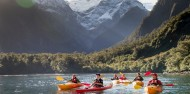 Kayaking - Milford Sound Coach, Cruise & Kayak image 1