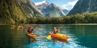 Kayaking - Milford Sound Coach, Cruise & Kayak image 4