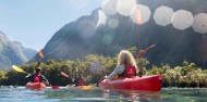 Kayaking - Milford Sound Coach, Cruise & Kayak image 8
