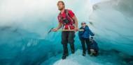 Heli Ice Climbing - Franz Josef Glacier Guides image 3