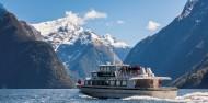 Milford Sound Boat Cruise - Mitre Peak Cruises image 1