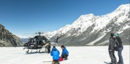 Heli Hike - Mt Cook Glacier Guiding image 3