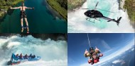 4Play - Bungy, Jet, Heli, Skydive Combo image 1