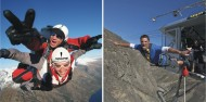 Skydiving & Bungy Combo image 1