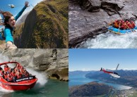 Awesome Foursome - Bungy Jet Heli Raft