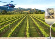 Helicopter Flight - Canterbury Winery Heli Lunch