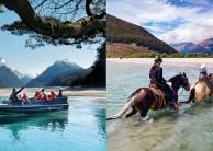 Dart River Wilderness Jet & Horse Riding Combo