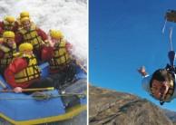 Nevis Bungy Raft
