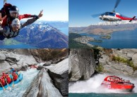 Skydiving Jetboat Heli Raft - Shotover Freefall