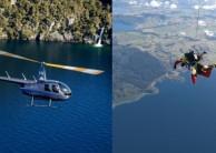 Skydiving & Scenic Heli Flight Combo