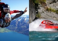 Skydiving & Jet Boat Combo