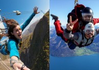 Skydiving & Nevis Bungy Combo