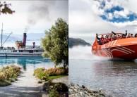 TSS Earnslaw Cruise & Jet Boat Combo