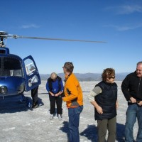 Glacier Helicopter flight in Queenstown.