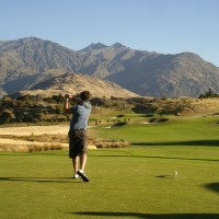 Lucky me! Playing the Hills, the home of the NZ Open.