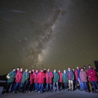 Alex at Mt John Observatory in Tekapo exploring the universe!