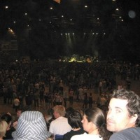 Cal & Sal at Kings of Leon in Christchurch 2009