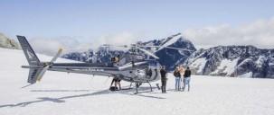 Helicopter Flight - Alpine Snow Landing