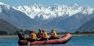 Rafting - Rangitata River Grade 1-5 - Everything New Zealand