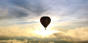 Hot Air Balloons - Sunrise - Everything New Zealand