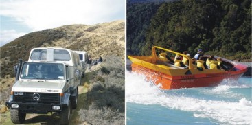 4WD & Jet Combo - Everything New Zealand