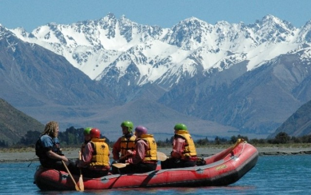 Rafting - Rangitata River Grade 1-5 - Christchurch