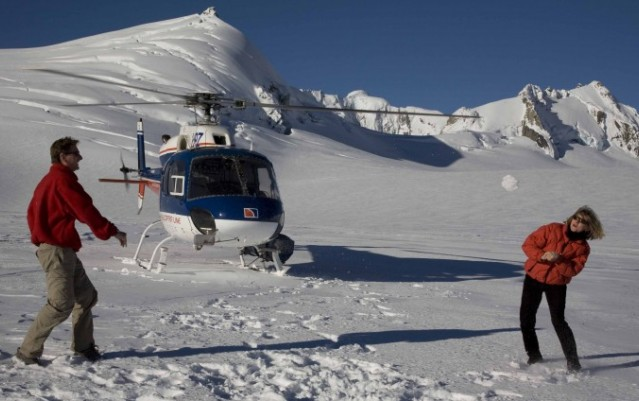 Helicopter Flight - Glacier Landing