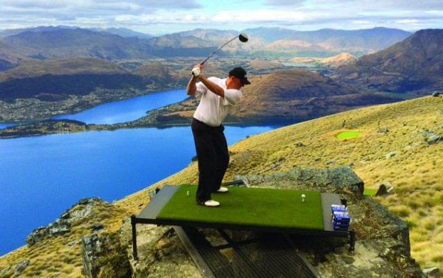 Golf - Over the top Golf