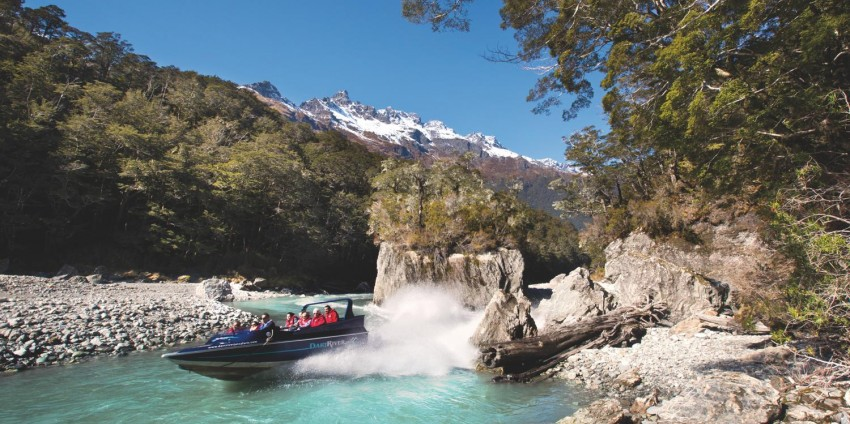 Jet boat - Dart River Wilderness Jet